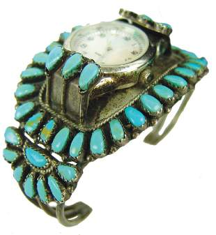 NavajoZuni Watch Bracelet GM