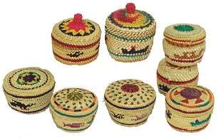 8 NootkaMakah Treasure Baskets