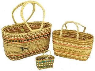 3 NootkaMakah Baskets