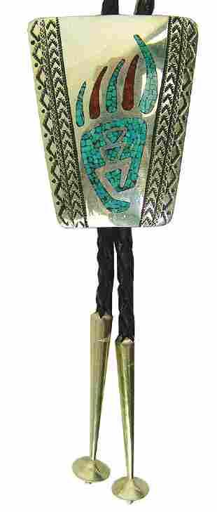 Navajo Bolo Tie Robert Becent
