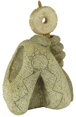 Iroquois Soapstone Smudge Bowl