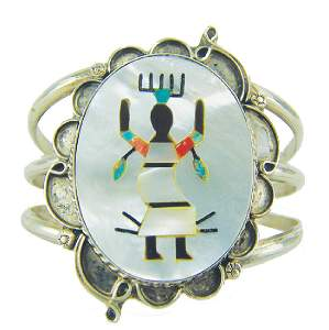 Zuni Inlay Bracelet