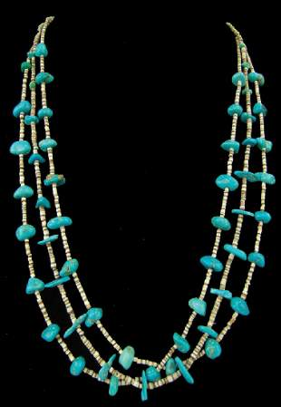 Pueblo Turquoise Necklace