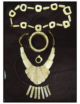 Bone Jewelry Display