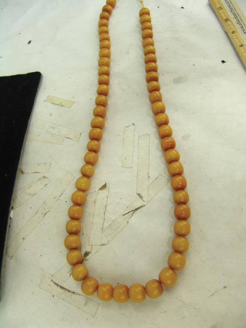 Copal Amber Trade Beads - 4