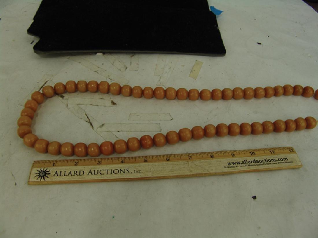 Copal Amber Trade Beads - 5