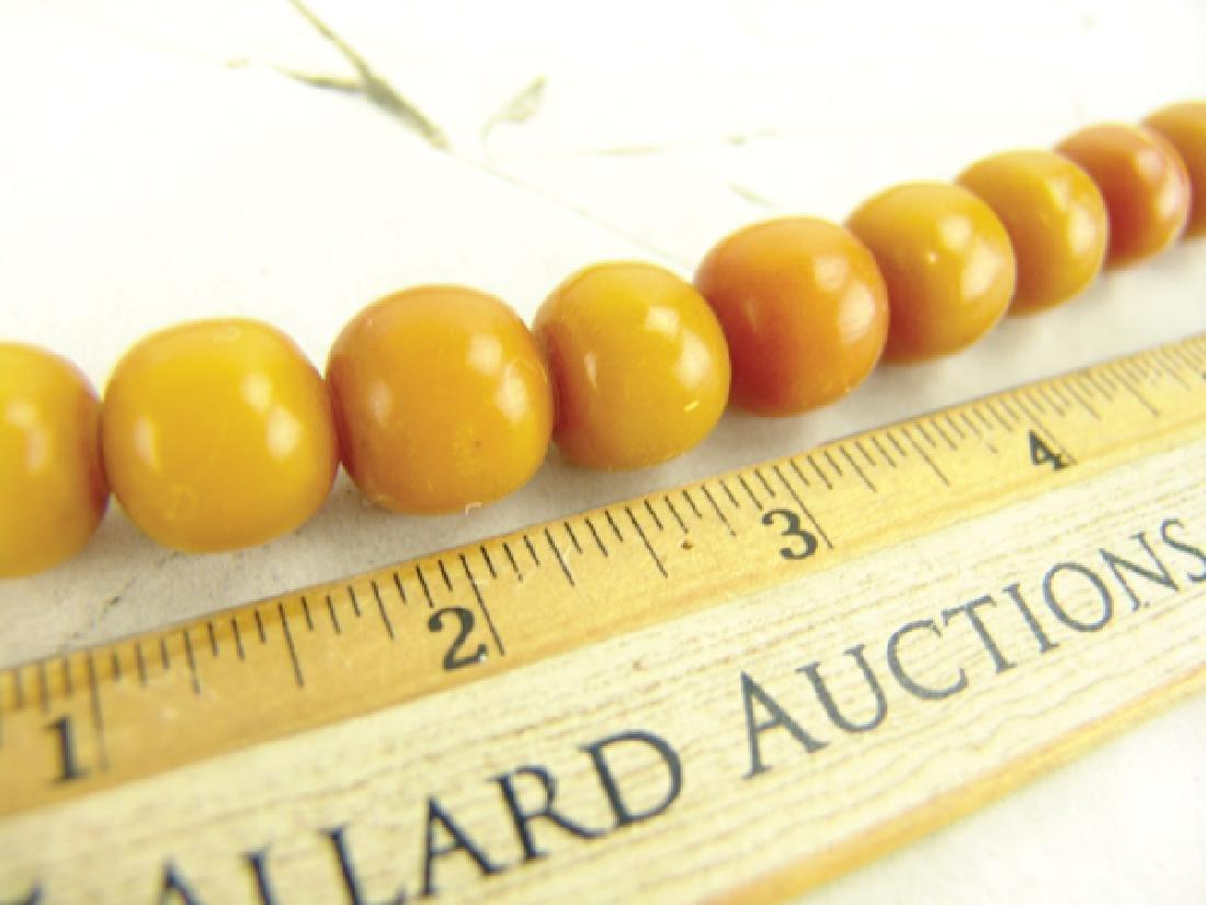 Copal Amber Trade Beads - 6