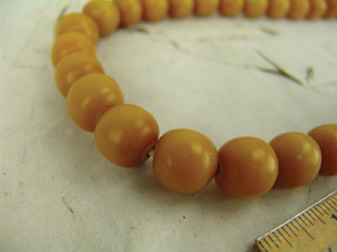 Copal Amber Trade Beads - 7