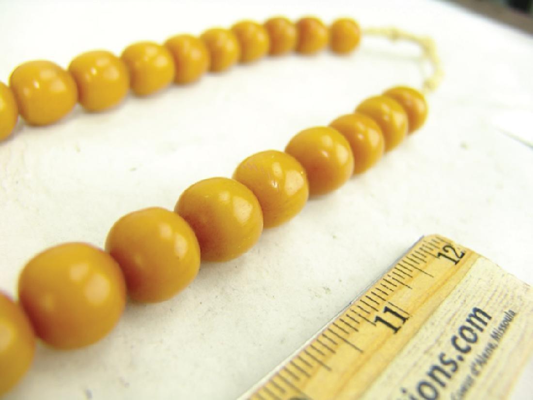 Copal Amber Trade Beads - 8