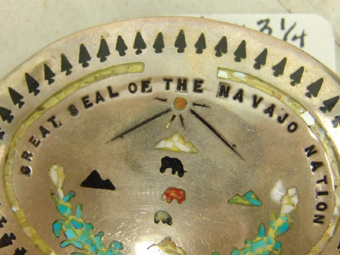 Navajo Belt Buckle - 3