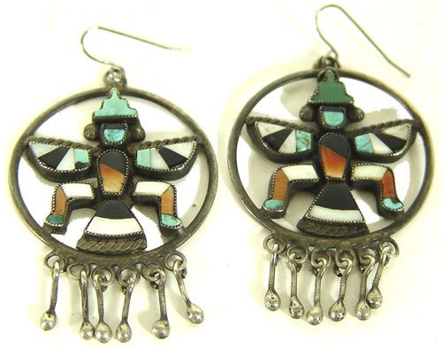 17: Zuni Earrings