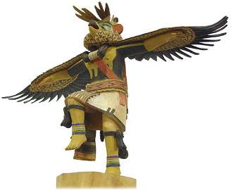 219: Hopi Kachina Carving