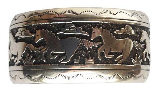 Navajo Bracelet Tommy And Rosita Singer