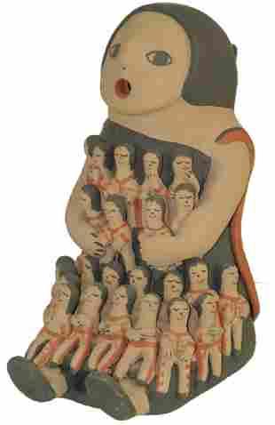 Jemez Pottery Doll - Judy Toya