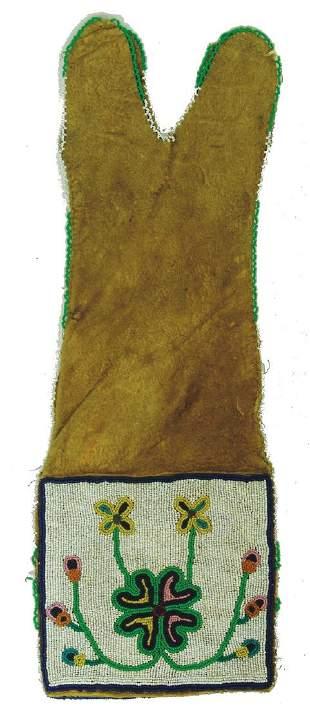 Cree Beaded Pipe Bag