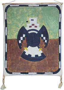 Historic Hopi Flag - Fred Kabotie (1900-1986)