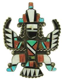 Zuni Inlay Pin