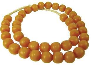 Copal Amber Trade Beads