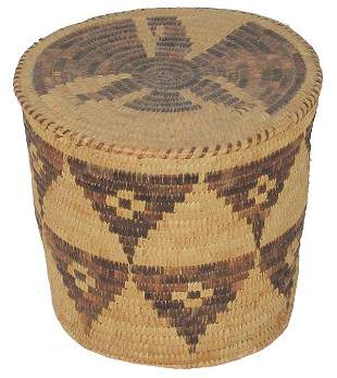 Papago Eagle Basket