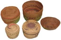 4 Nootka/Makah Baskets