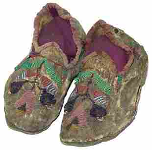 Cree Childs Moccasins