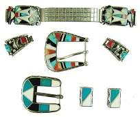 Group of Navajo  Zuni Jewelry Items