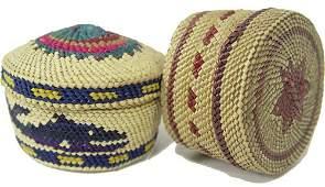 1242: Makah Baskets