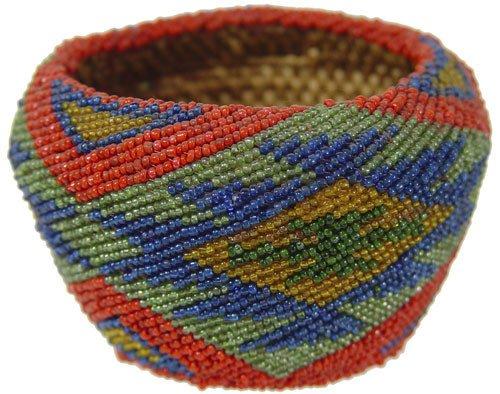 6: Paiute Beaded Basket