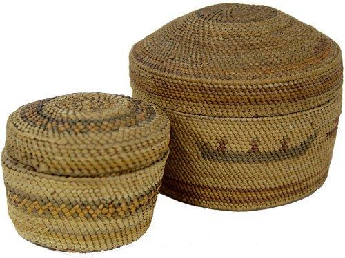 9: Nootka/Makah Basketry