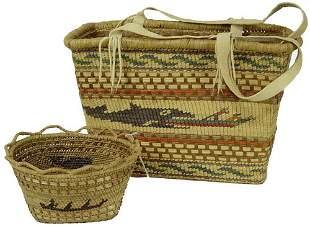 Nootka/Makah Basketry
