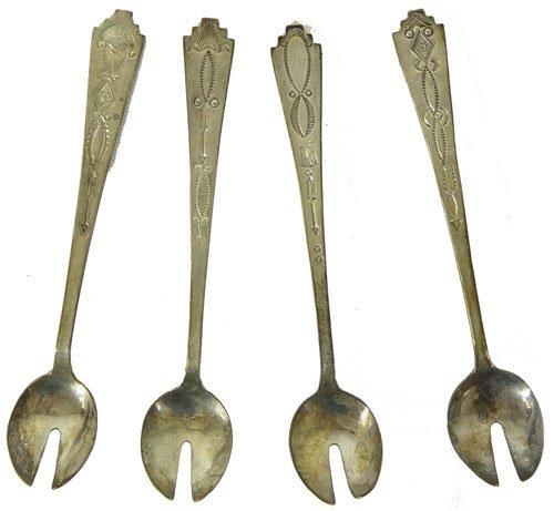 14: Navajo Silver Spoons