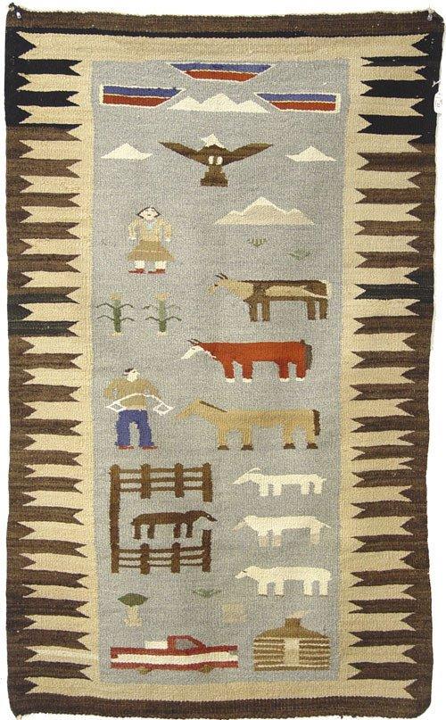 22: Navajo Rug