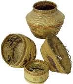 246: Nootka-Makah Baskets