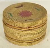 1058: Nootka/Makah Treasure Basket
