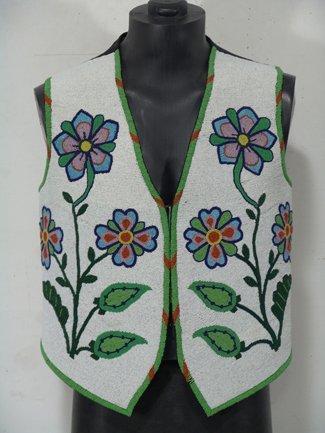 1275: Flathead Beaded Vest