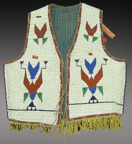 298: Sioux Beaded Vest