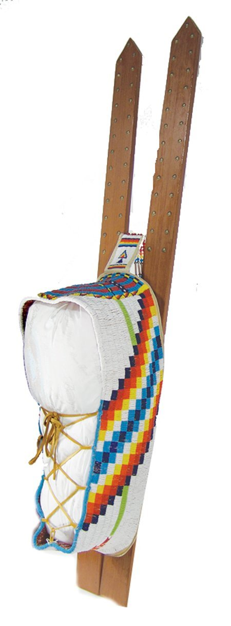 375: Southern Plains Beaded Cradle