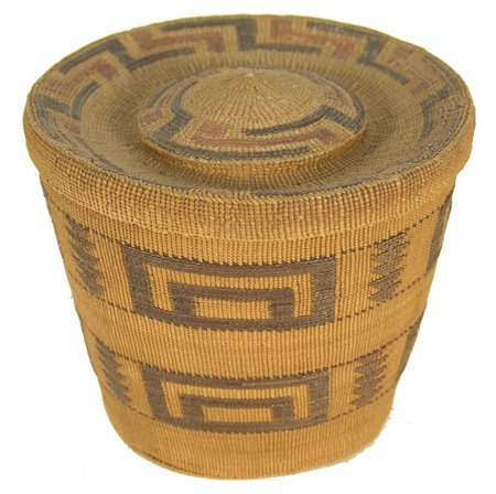 503: Tlingit Rattle Top Basket