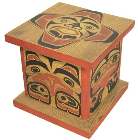 521: Interior Salish Cedar Box