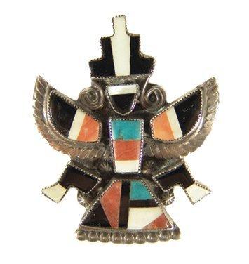 1005: Zuni Inlay Pin