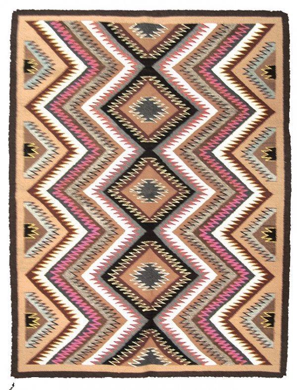 1011: Navajo Teec-Nos-Pos Rug - Minnie Bitah