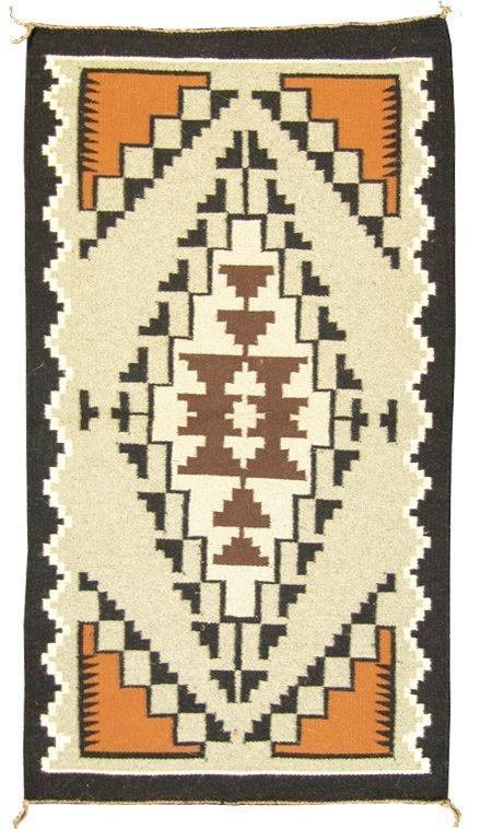 1013: Navajo Two Gray Hills Rug - Betty Benally