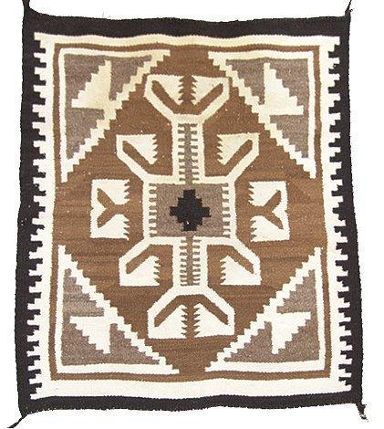 1020: Navajo Two Gray Hills Rug