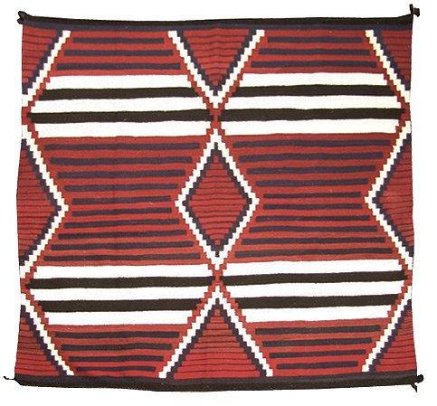 1047: Navajo Chief's Blanket - Winnie Yazzie