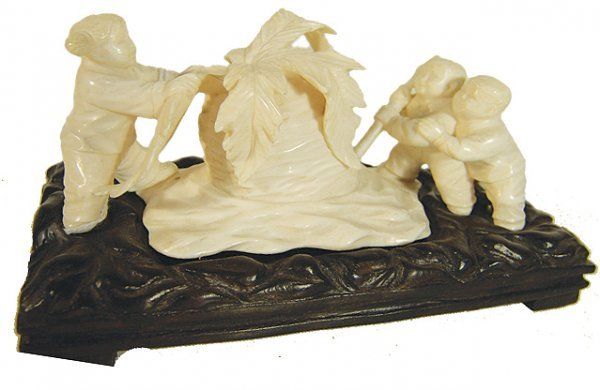 1057: Communist Chinese Ivory Carving