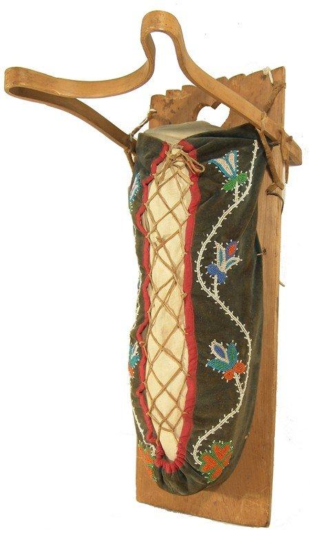3: Chippewa Beaded Cradle Board