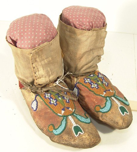 5: Blood Beaded Moccasins
