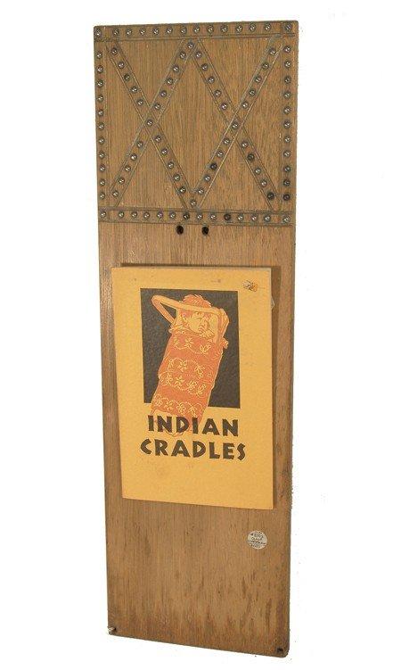 12: Osage Cradle Board