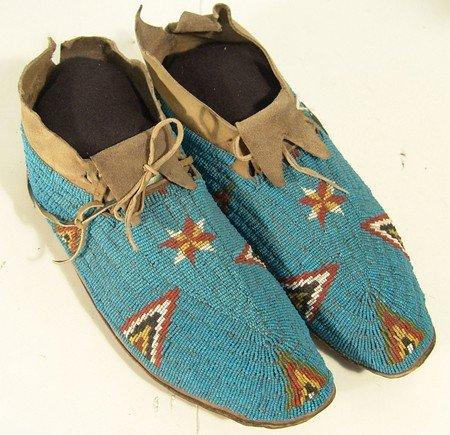 24: Cheyenne Beaded Moccasins