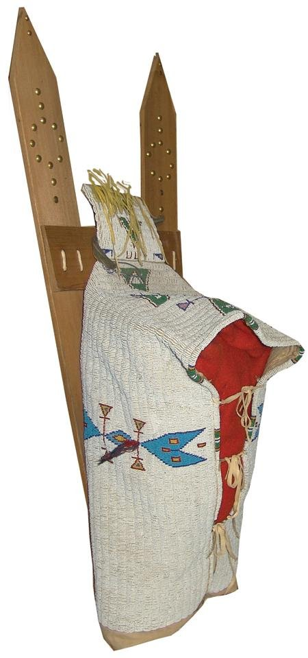 448: Sioux Fully Beaded Cradle